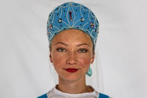 Portrait of a Girl from Russia