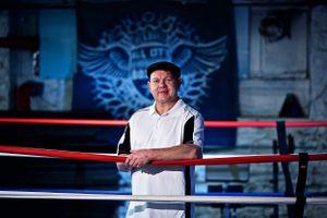 Man in Boxing Ring