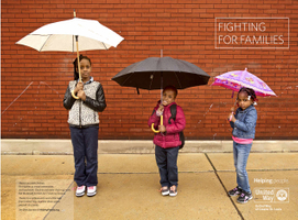 United Way Advertisement, Families