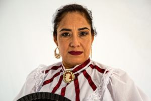 Portrait of  a Woman from Romania