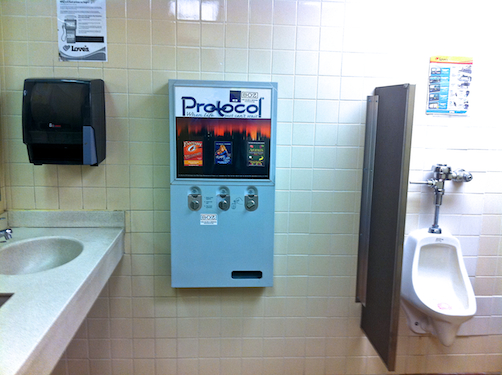 Condom Machines Lou Bopp Commercial Location Photographer
