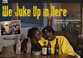 Double Page spread on Juke Joints in Zoom Magazine