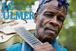 LC Ulmer Magazine Double Page Spread