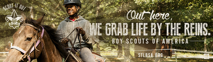 Boy Scouts Banner Advertisement