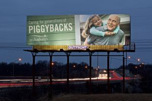 Outdoor Billboard St. Anthony's