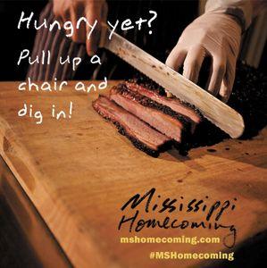 Mississippi Tourism Print Ad Food