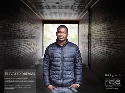 United Way Print Ad Dreams