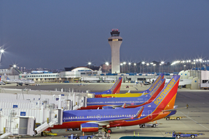 Southwest Airline Tails
