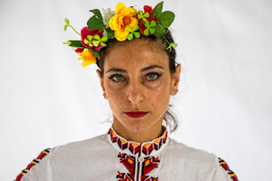 Portrait of a Woman From Bulgaria