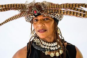 Portrait of a Woman From Africa