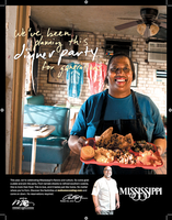 Mississippi Tourism Print Ad Bully's