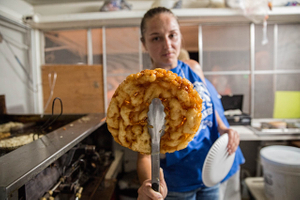 Fried Funnel Cake
