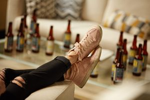 Pink Shoes and Beer