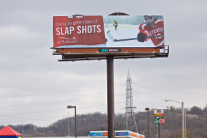 Outdoor Billboard for St. Anthony's Hospital