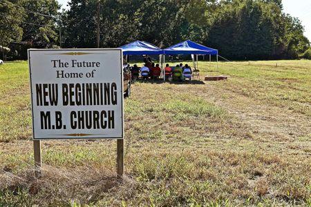 New Beginning Church Sign