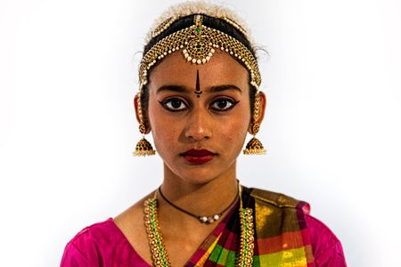 Portrait of a Girl From India