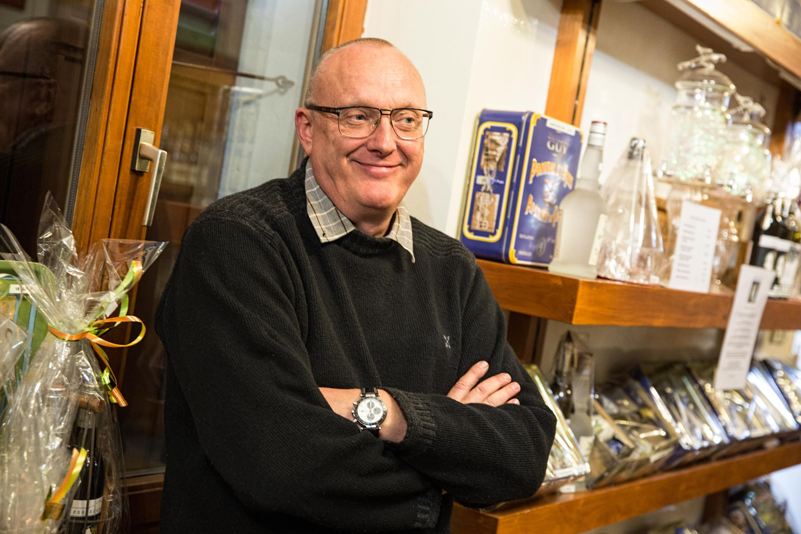 Owner of Distillery Armand Guy