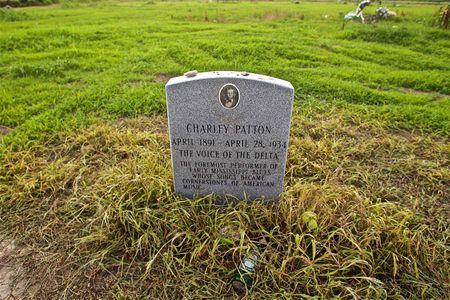 Charley Patton Gravestone