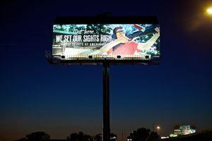 Boy Scouts Banner Outdoor Advertisement
