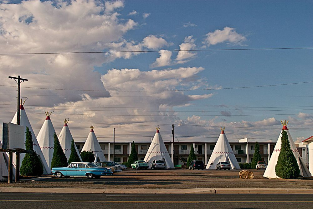 Wigwam Motel In Arizona