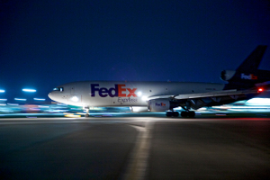 FedEx Plane Landing
