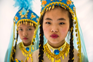 Portrait of Girls from Asia