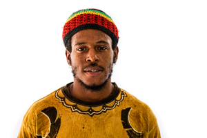 Portrait of a Man from Jamaica