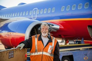 Southwest Airline Baggage Handler