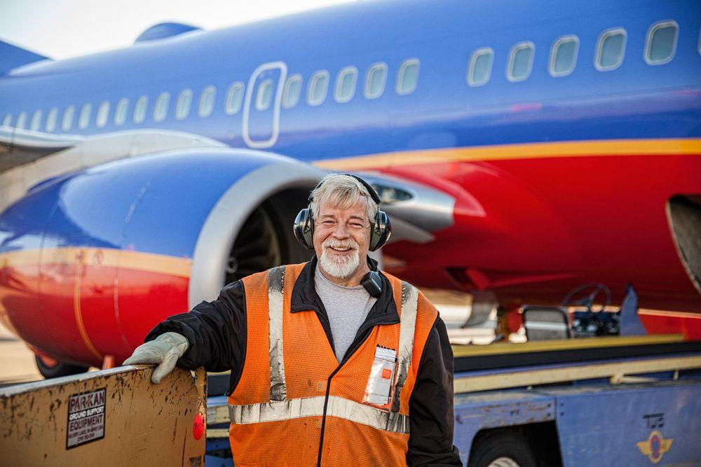 Southwest Airline Baggage Handler