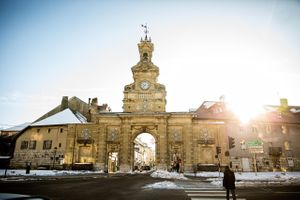 Photo of the Gates of Pontarlier, France