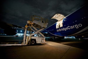 Loading a Boeing 747
