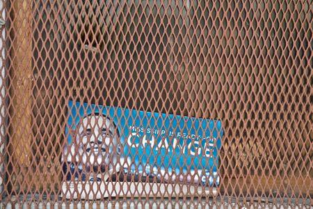 Obama Change Number Sticker
