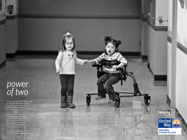 United Way Print Ad, Power of Two