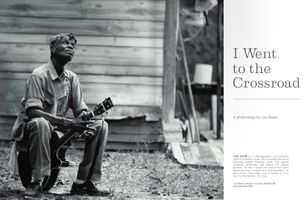 LC Ulmer Double Page Spread Magazine Article