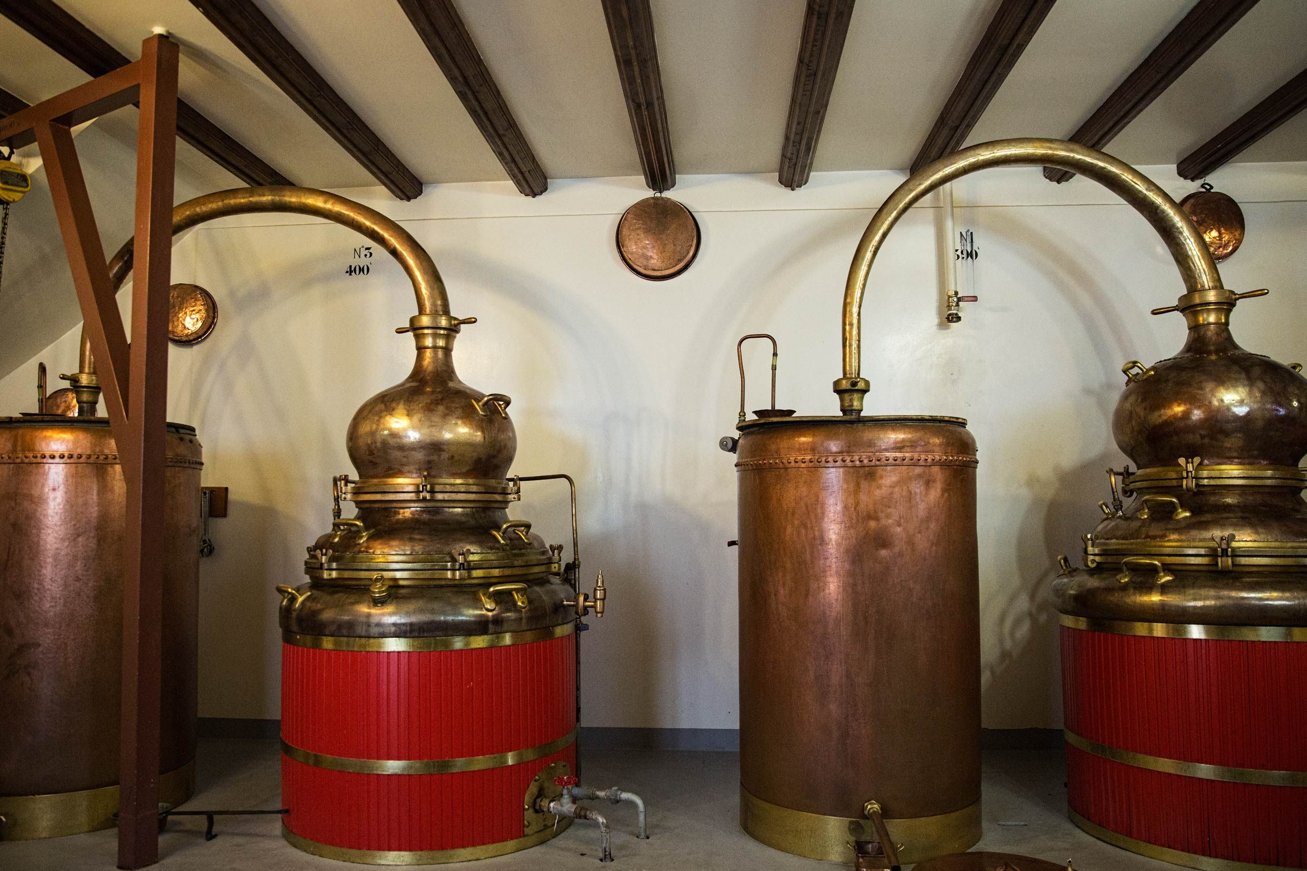 Old Copper Distillery at Distillery Armand GUY