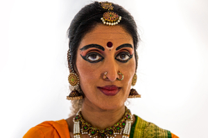 Portrait of a Woman From India