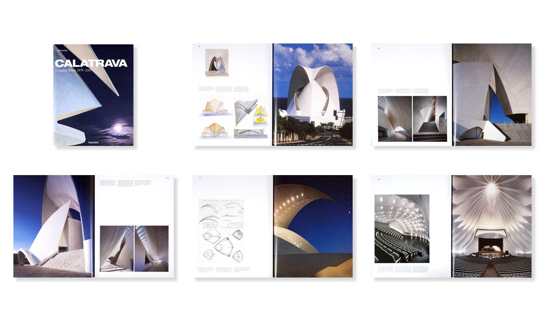 CALATRAVA: COMPLETE WORKS 1979-2007 . TASCHEN . PRINCIPAL CONTRIBUTING PHOTOGRAPHER