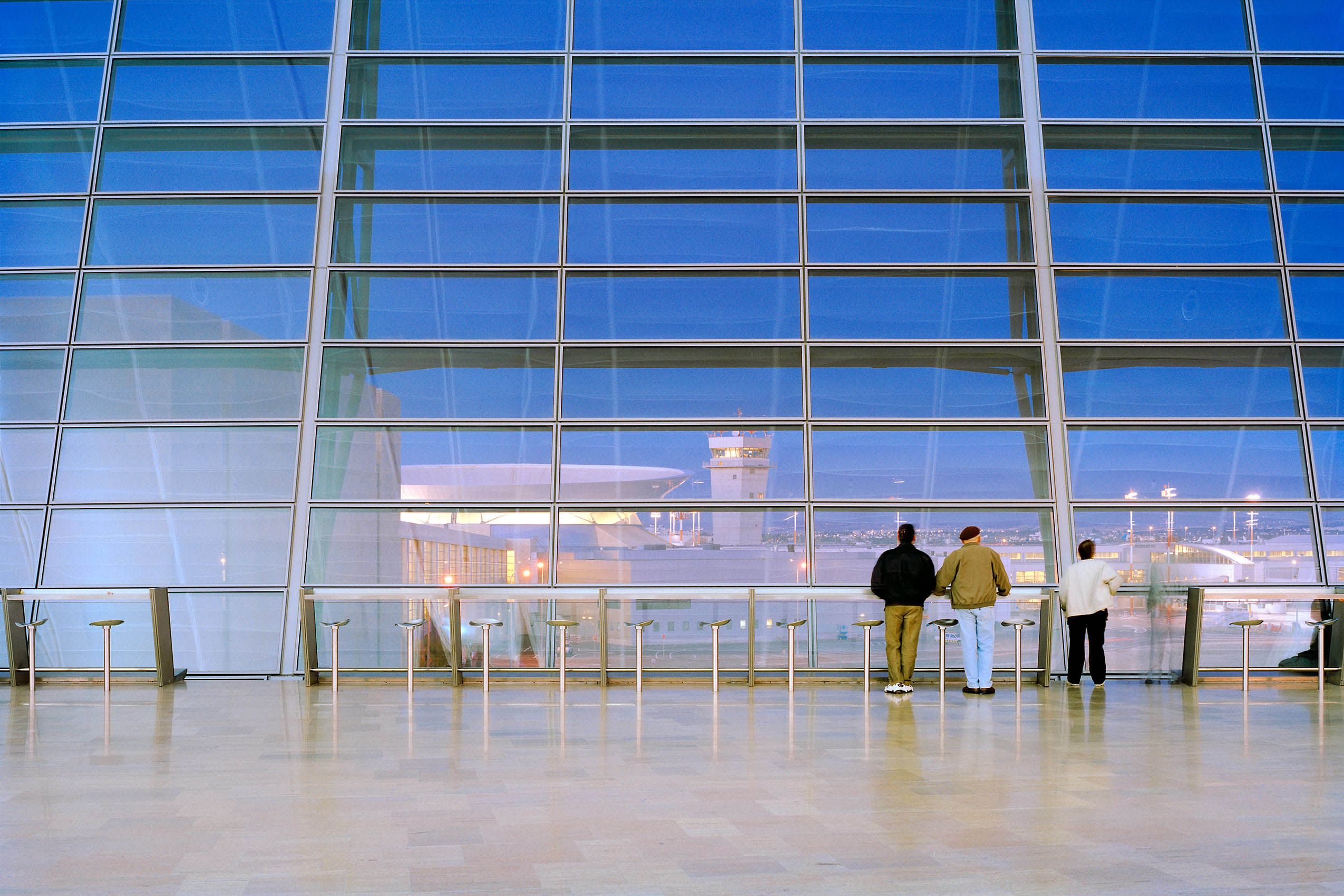 MOSHE SAFDIE  .  BEN GURION INTERNATIONAL AIRPORT  .  TEL AVIV