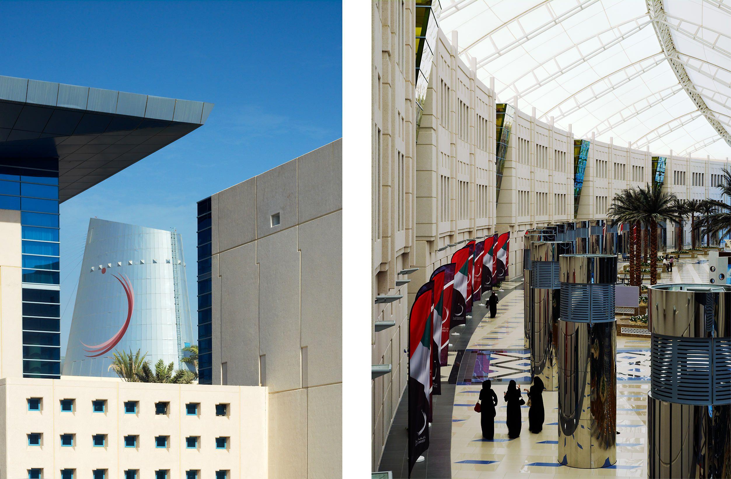 HOK  .  ZAYED UNIVERSITY WOMEN'S CAMPUS  .  DUBAI UAE