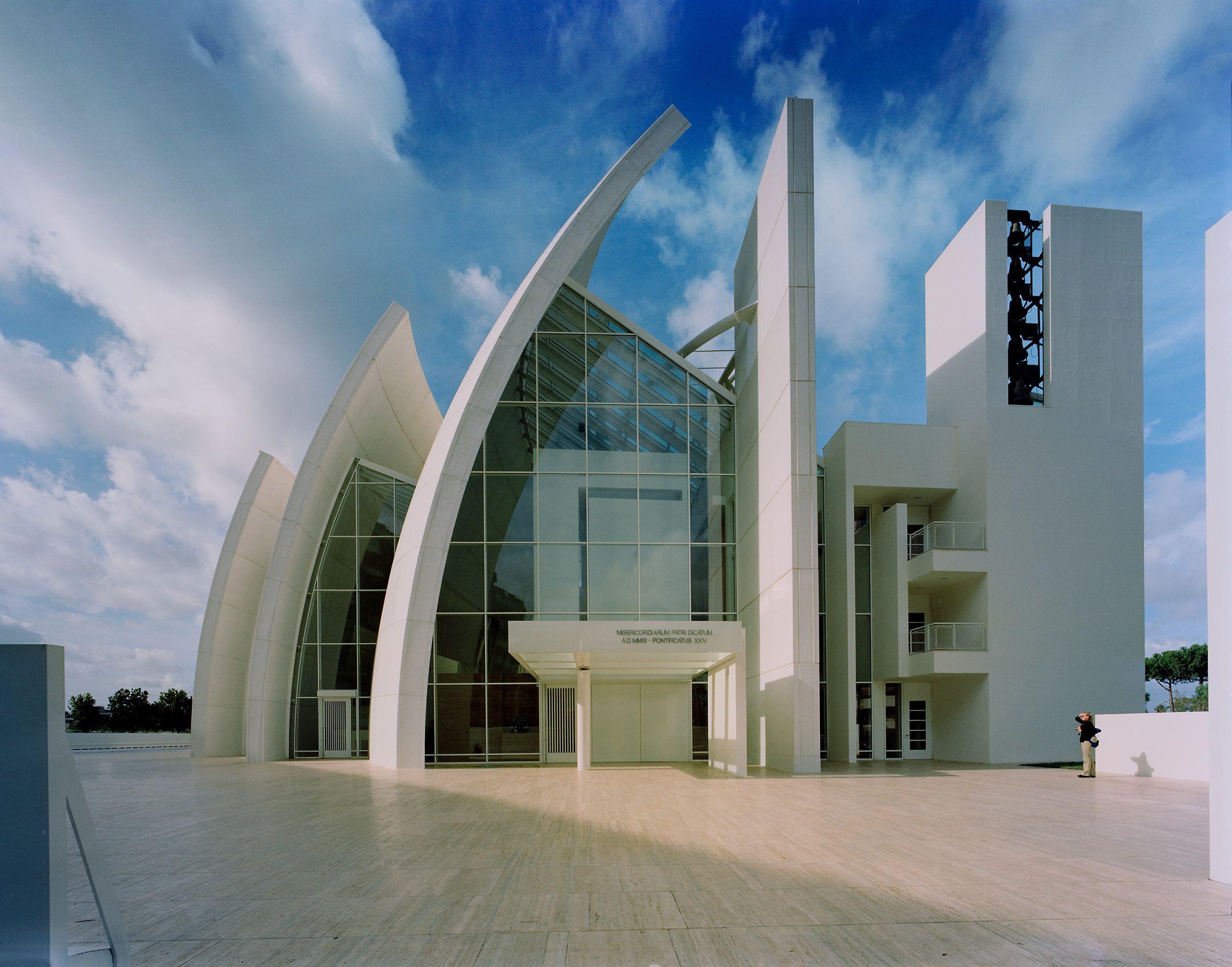 RICHARD MEIER & PARTNERS  .  JUBILEE CHURCH  .  ROME