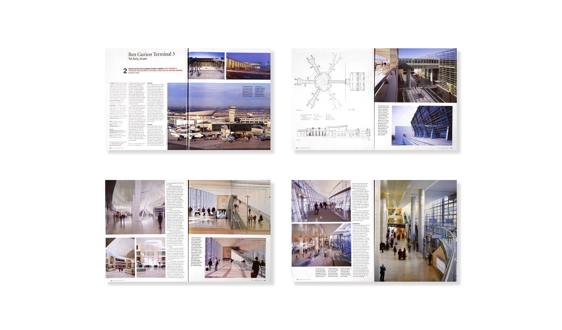 ARCHITECTURAL RECORD 10.05 . MOSHE SAFDIE & SOM . BEN GURION INT'L. AIRPORT