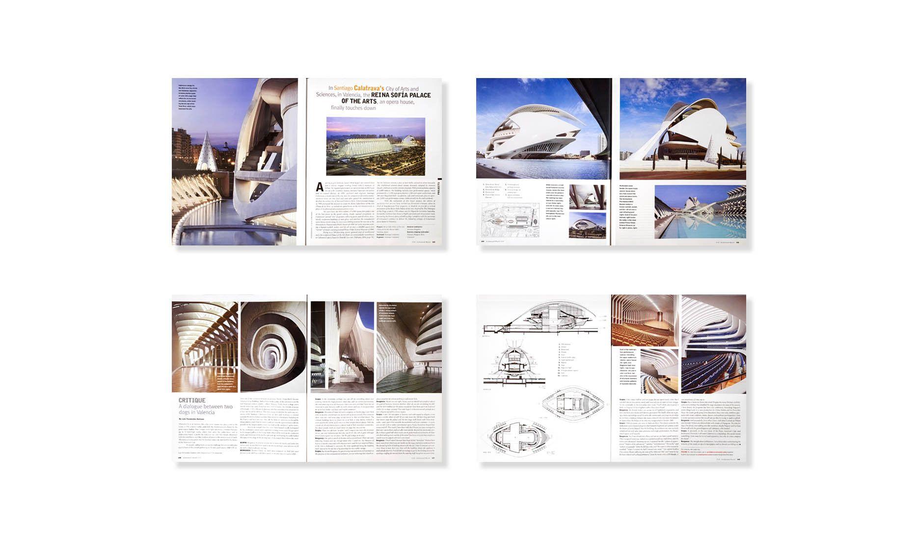 ARCHITECTURAL RECORD 07.07  .  SANTIAGO CALATRAVA  .  PALAU de les ARTES
