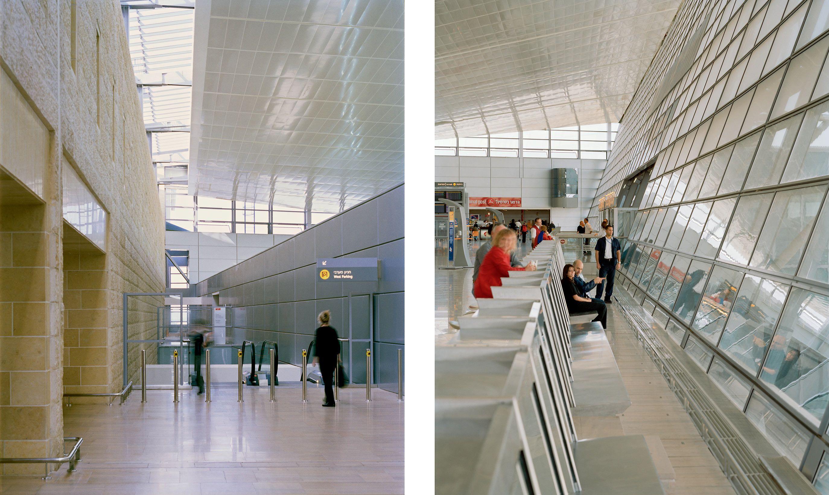 SKIDMORE OWINGS & MERRIL  .  BEN GURION INTERNATIONAL AIRPORT  .  TEL AVIV