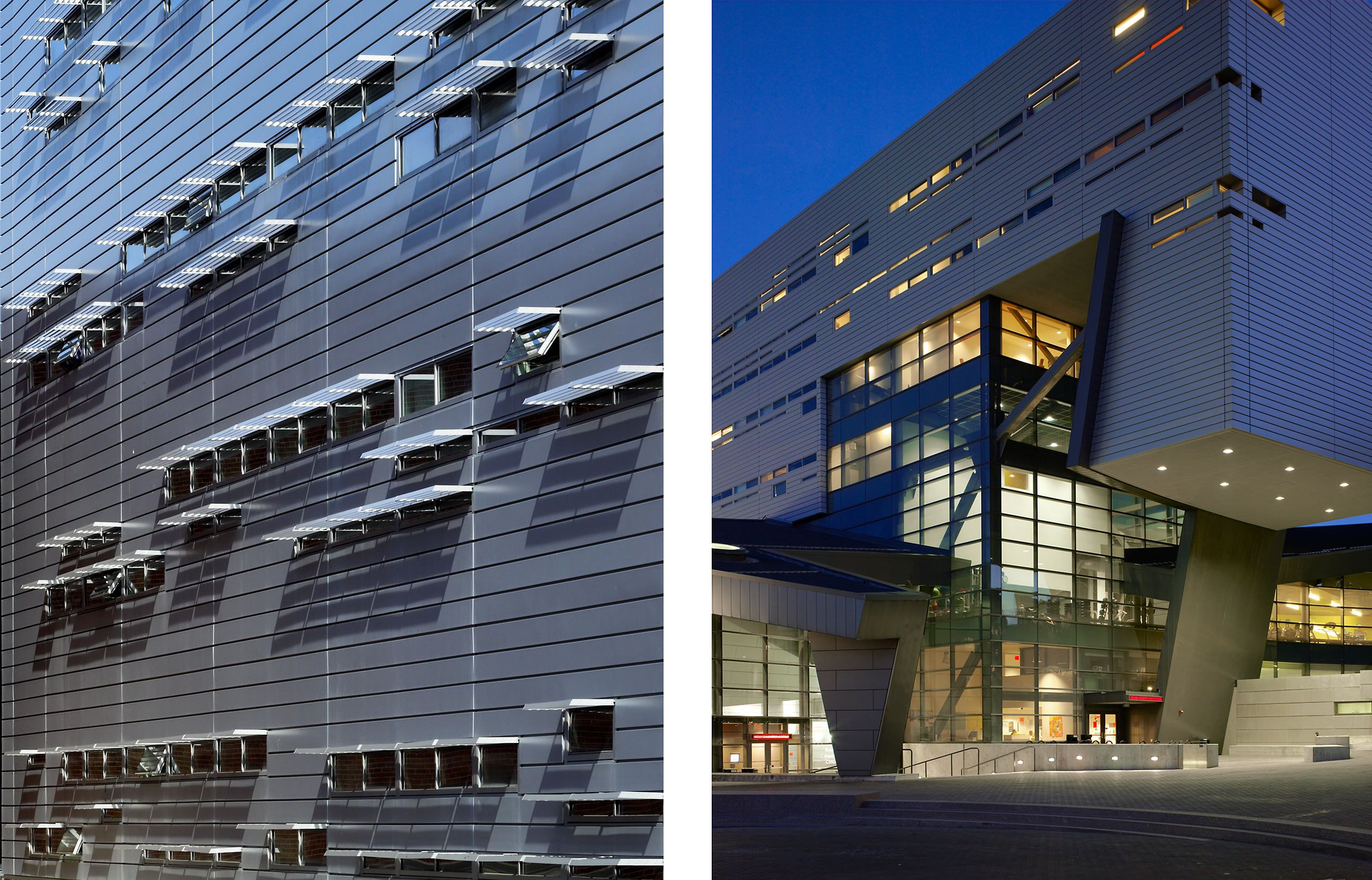 MORPHOSIS  .  UNIVERSITY OF CINCINNATI REC CENTER AND RESIDENCE HALL  .  CINCINNATI OH