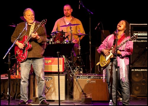 Blues Guitar Tour - Jorma Kaukonen & Ruthie Foster - 2009