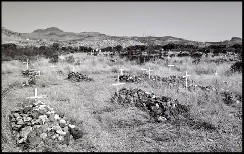 Cemetery - Shafter, TX - May 27, 2018