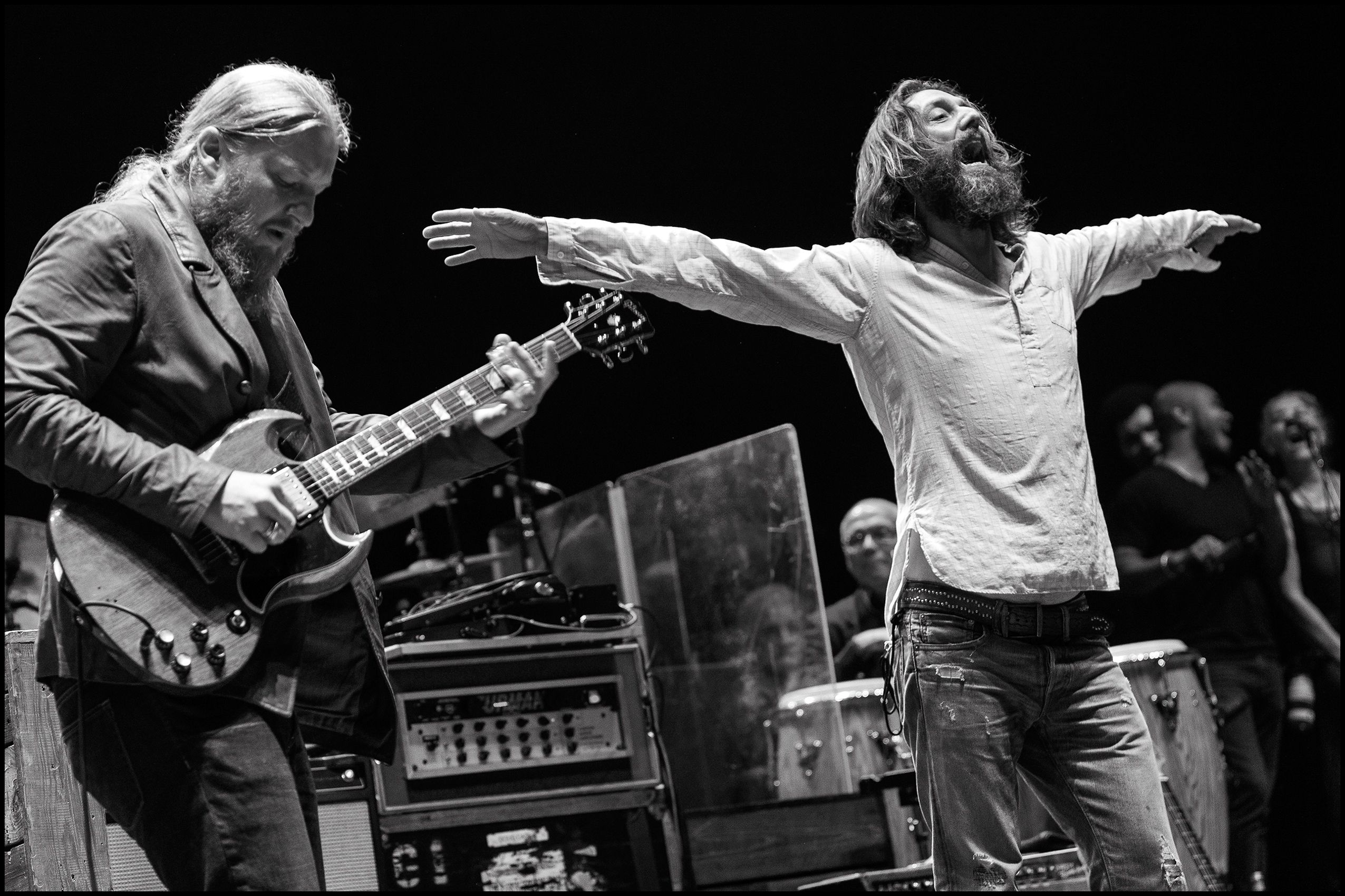 Derek Trucks & Chris Robinson, Lockn' 2015