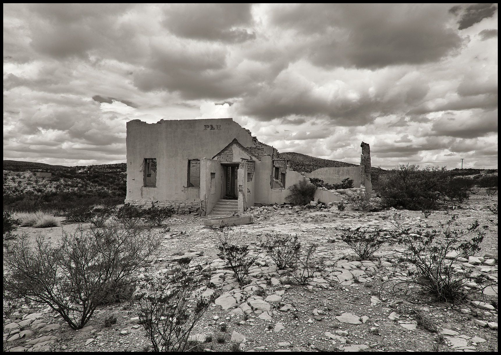 Abandoned School House - Terlingua, TX