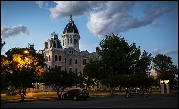 Courthouse - Marfa, TX - May 25, 2018
