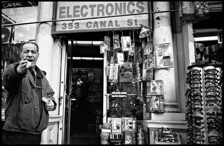 Camera Shy,  Canal Street - NYC